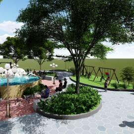 Dự án thiết kế Công viên khu dân cư