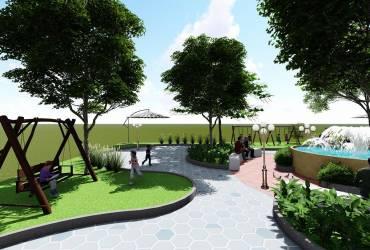 Thiết kế cảnh quan resort - Hoàng Nguyên Green