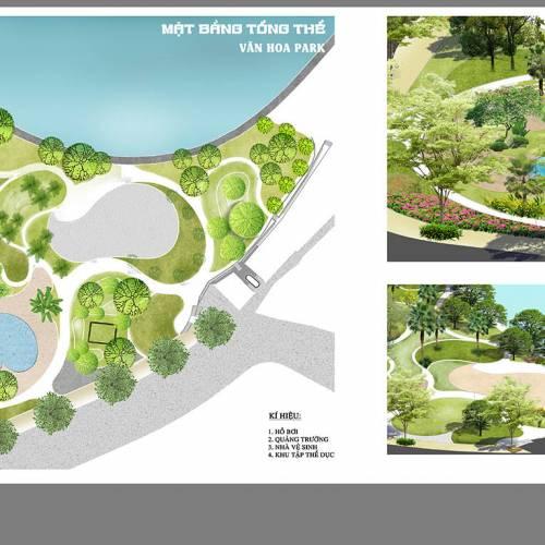 Dự án thiết kế Công viên Văn Hoa