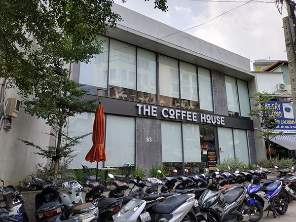 Cây xanh The Coffee House