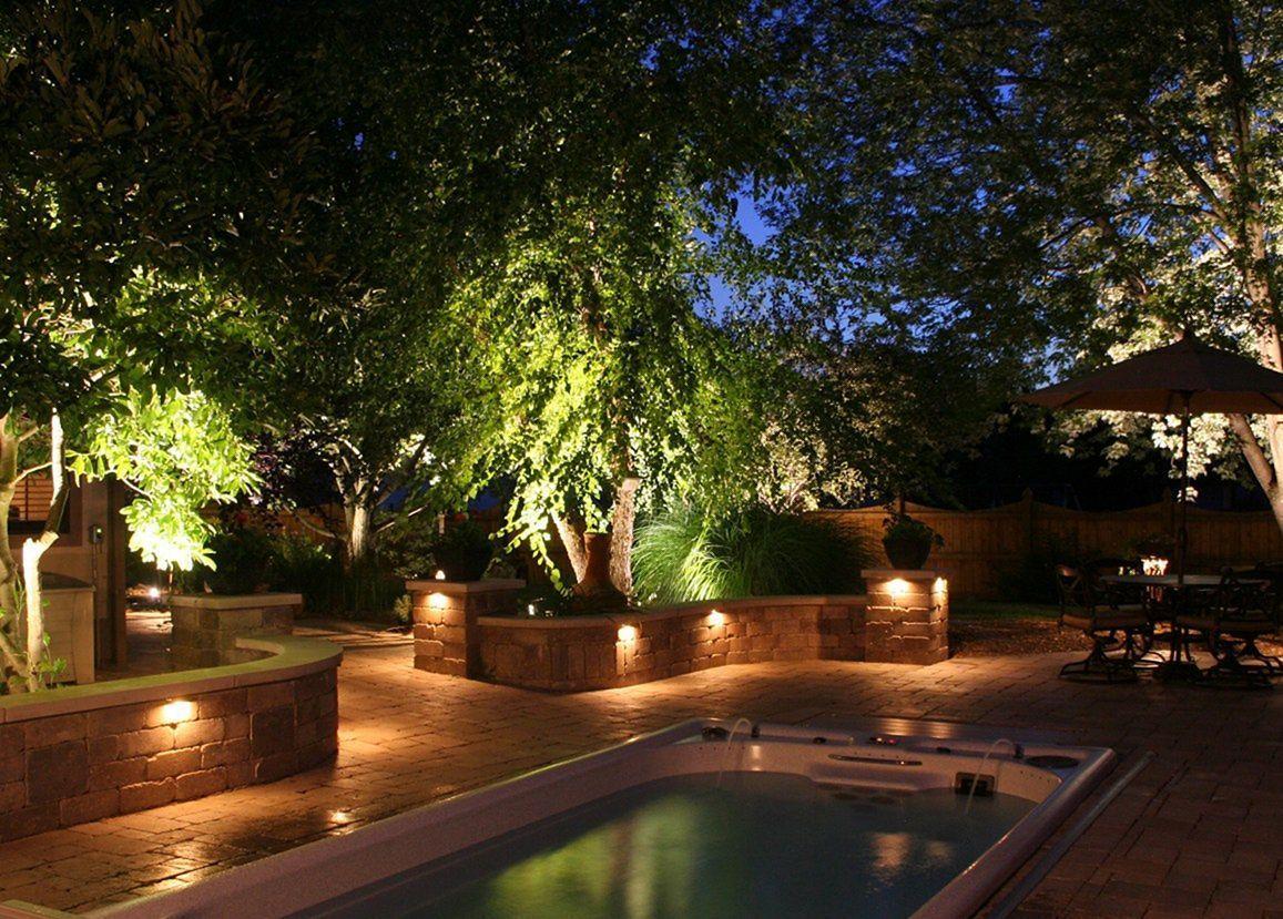 Nguyên tắc lắp đèn chiếu sáng sân vườn