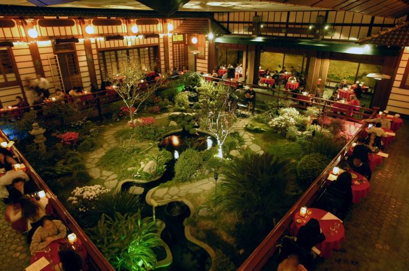 Nhà hàng sân vườn phong cách nhật