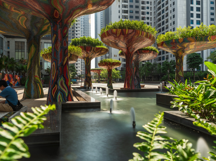 Vai trò của cây xanh trong thiết kế cảnh quan